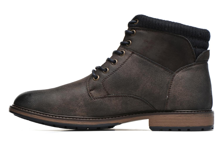 Bottines et boots I Love Shoes SUNIMA Marron vue face