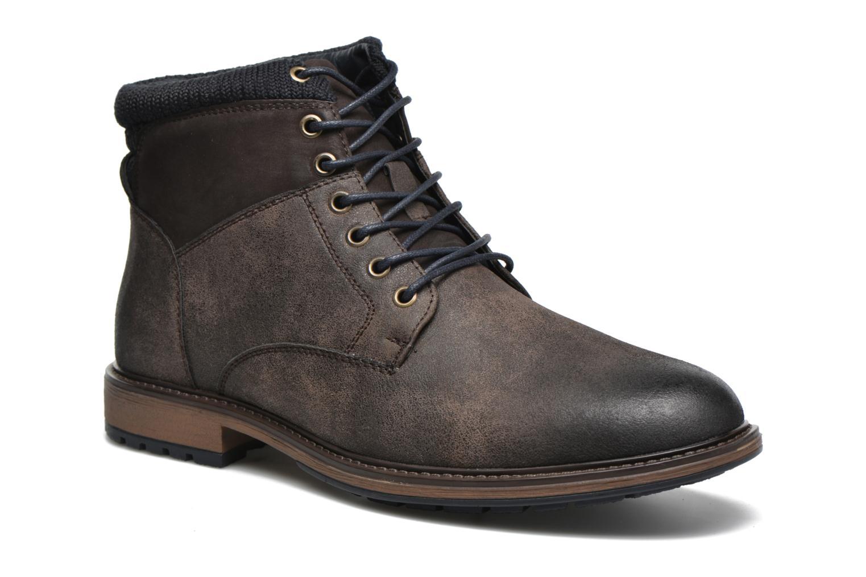 Bottines et boots I Love Shoes SUNIMA Marron vue détail/paire