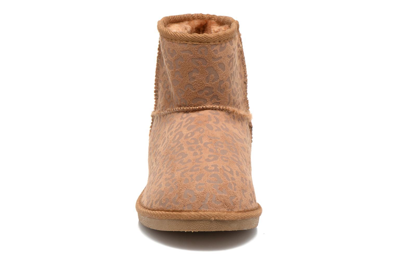 Bottines et boots Xti Jalna-28823 Marron vue portées chaussures
