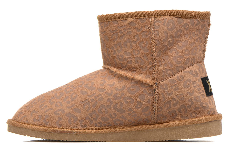 Bottines et boots Xti Jalna-28823 Marron vue face