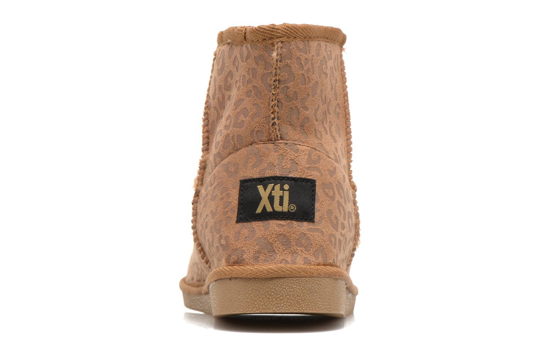 Bottines et boots Xti Jalna-28823 Marron vue droite