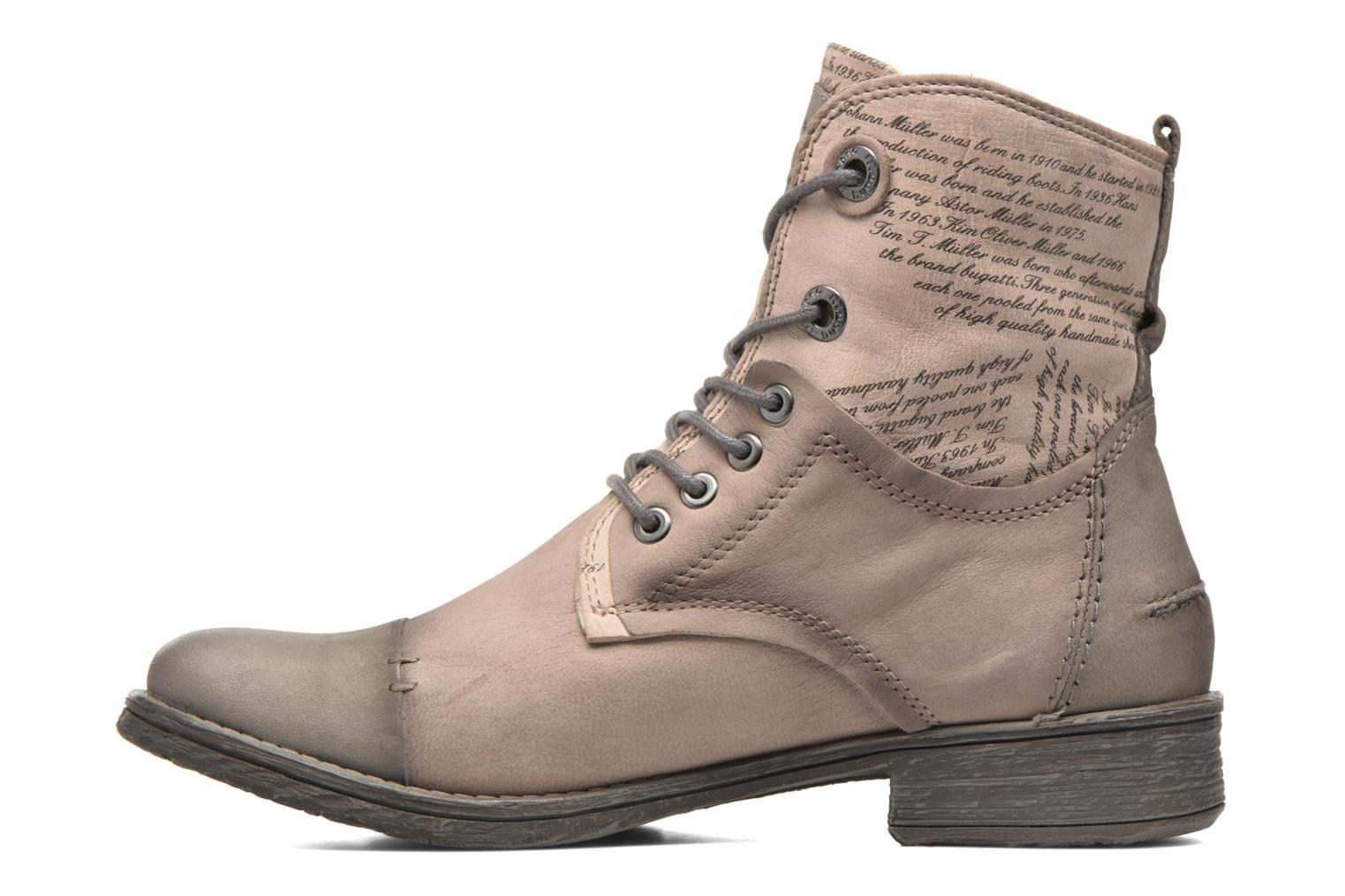 Ankle boots Bugatti Kyra 2 Beige front view