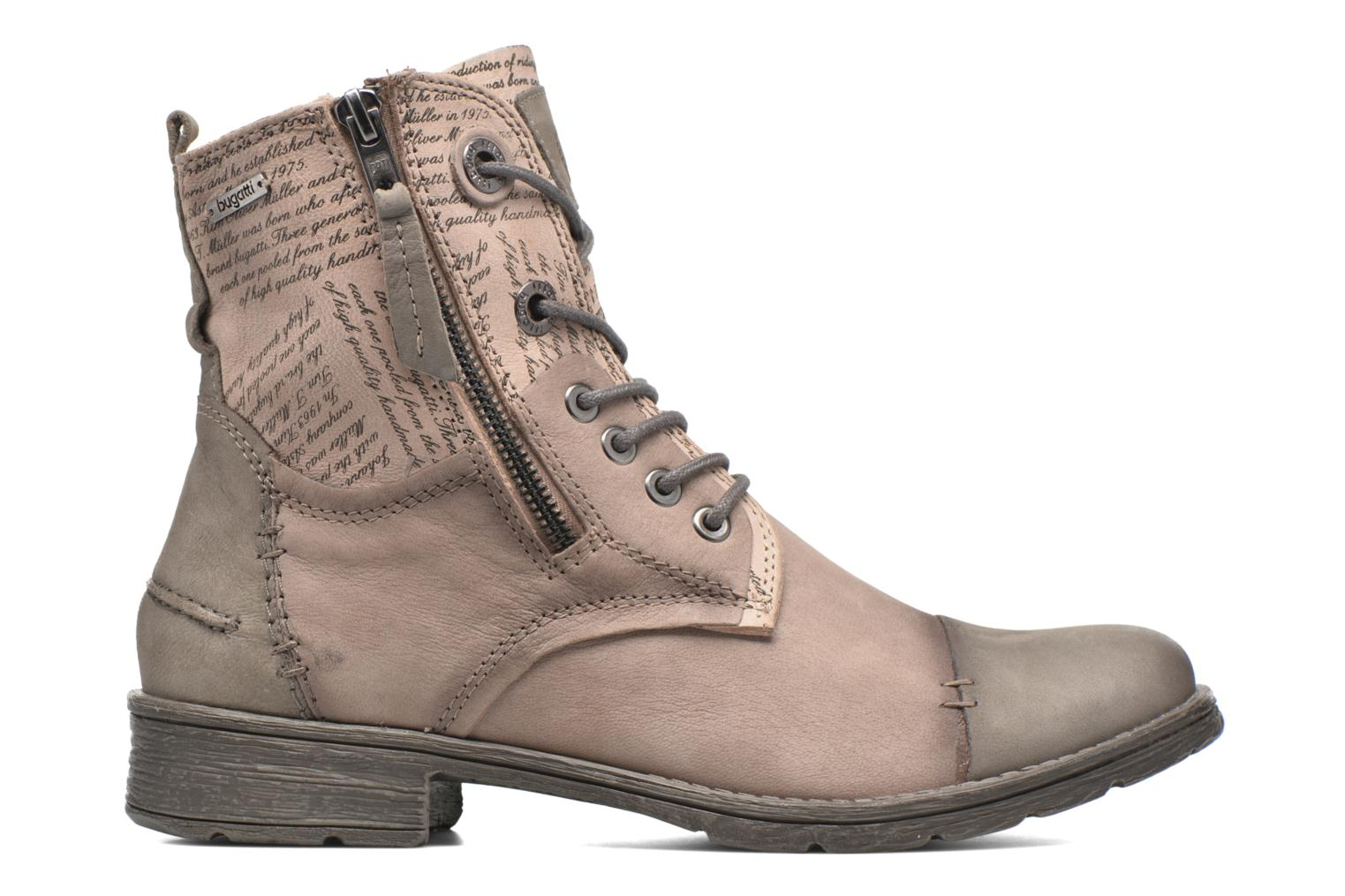 Ankle boots Bugatti Kyra 2 Beige back view