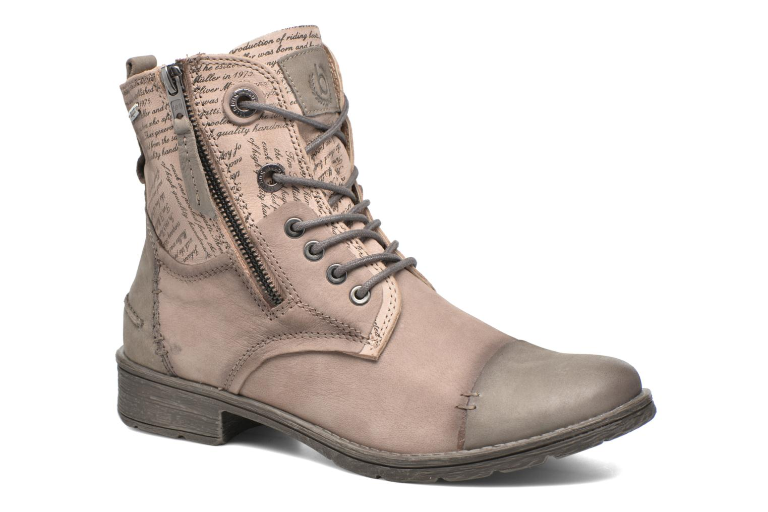 Ankle boots Bugatti Kyra 2 Beige detailed view/ Pair view