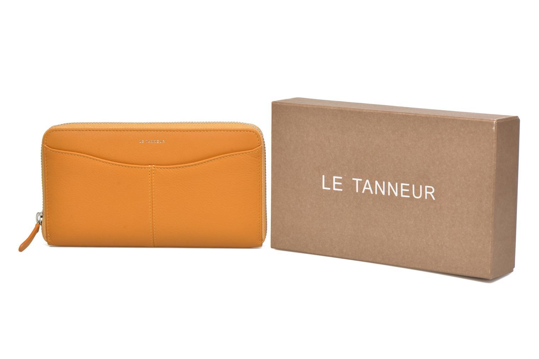 Wallets & cases Le Tanneur VALENTINE Porte-monnaie long zippé Yellow detailed view/ Pair view