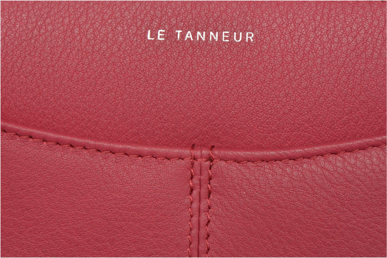 Petite Maroquinerie Le Tanneur VALENTINE Porte-monnaie long zippé Rose vue gauche