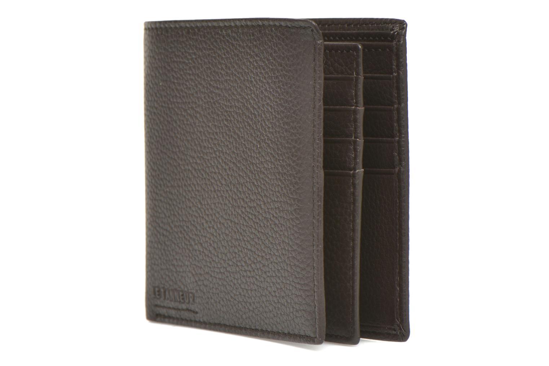 Wallets & cases Le Tanneur MARIUS Porte-billets volet central Brown model view
