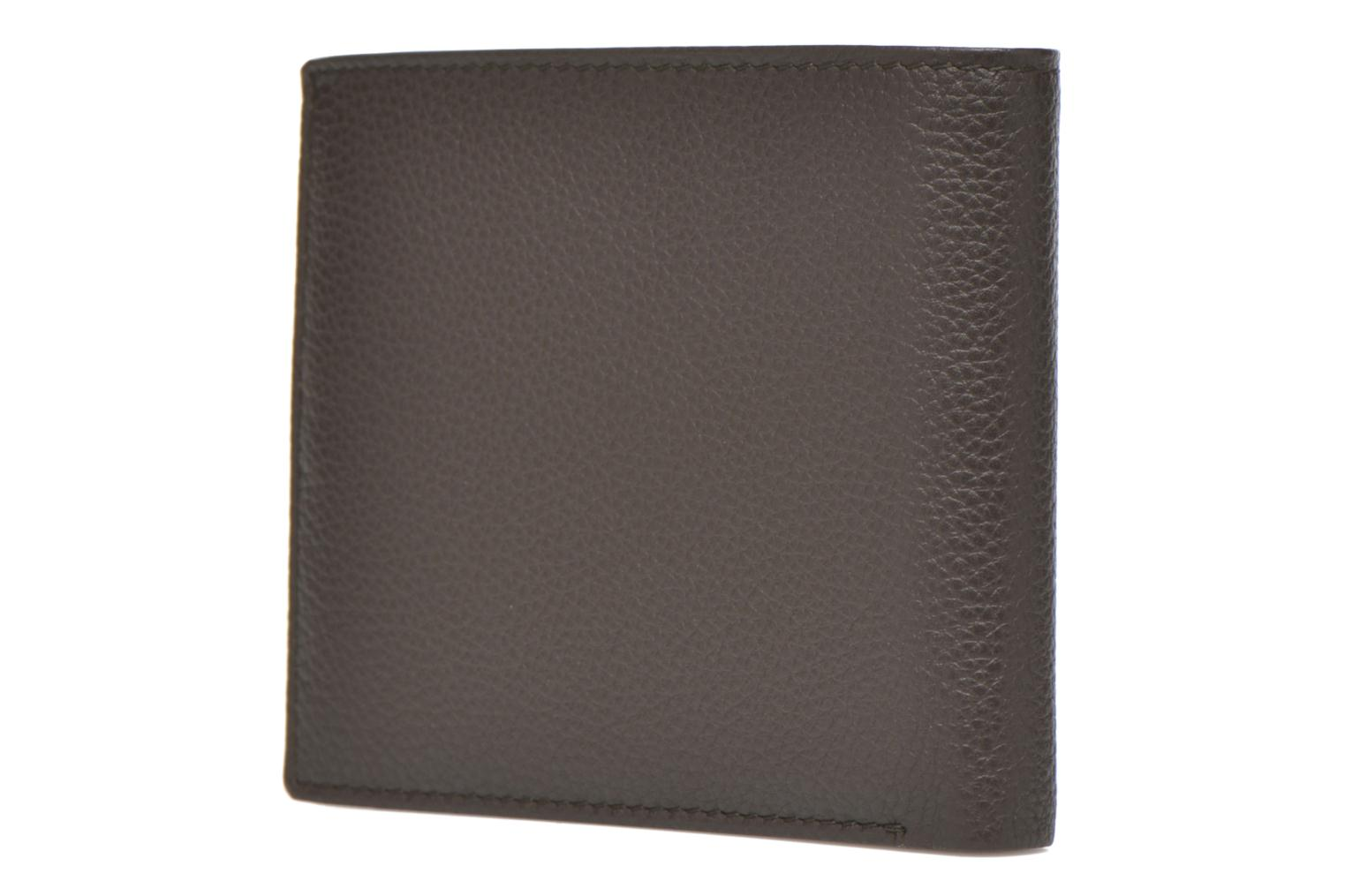 Wallets & cases Le Tanneur MARIUS Porte-billets volet central Brown view from the right