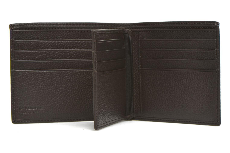 Wallets & cases Le Tanneur MARIUS Porte-billets volet central Brown back view