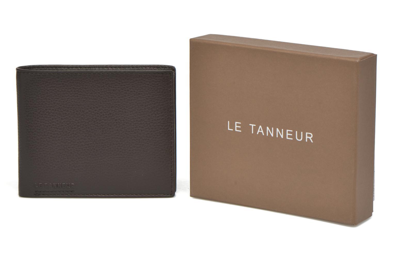 Wallets & cases Le Tanneur MARIUS Porte-billets volet central Brown detailed view/ Pair view