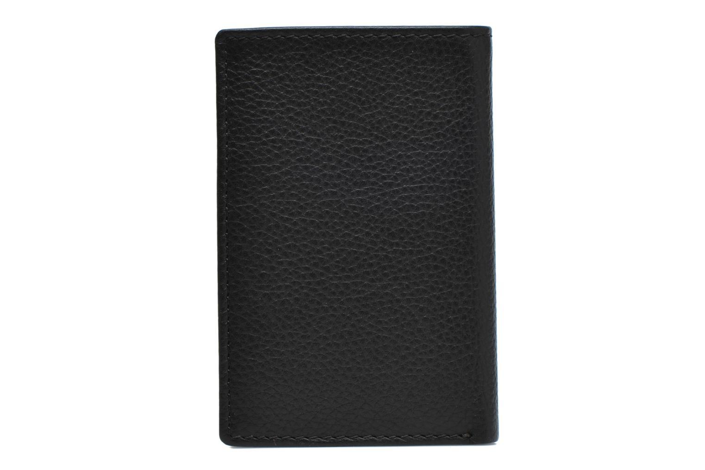 Marroquinería pequeña Le Tanneur MARIUS Porte-cartes poche billets Negro vista de frente