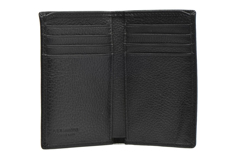 Portemonnaies & Clutches Le Tanneur MARIUS Porte-cartes poche billets schwarz ansicht von hinten