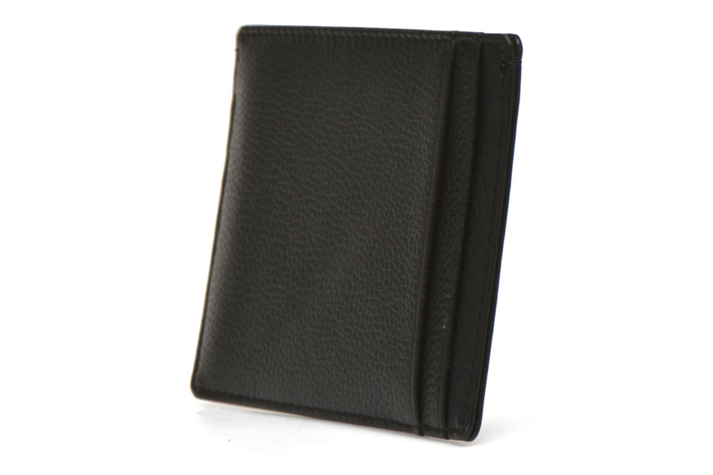 MARIUS Porte-papiers 3 poches Noir