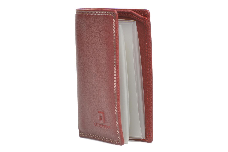 Portemonnaies & Clutches Le Tanneur TOURAINE Porte-cartes et billets rot schuhe getragen