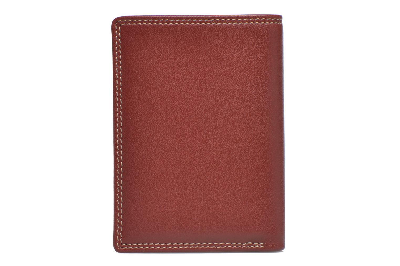 Portemonnaies & Clutches Le Tanneur TOURAINE Porte-cartes et billets rot ansicht von vorne