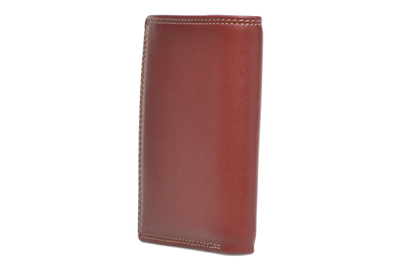 Portemonnaies & Clutches Le Tanneur TOURAINE Porte-cartes et billets rot ansicht von rechts
