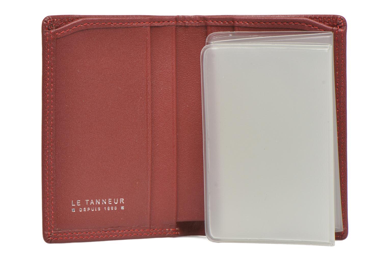 Portemonnaies & Clutches Le Tanneur TOURAINE Porte-cartes et billets rot ansicht von hinten