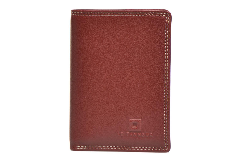 Portemonnaies & Clutches Le Tanneur TOURAINE Porte-cartes et billets rot ansicht von links