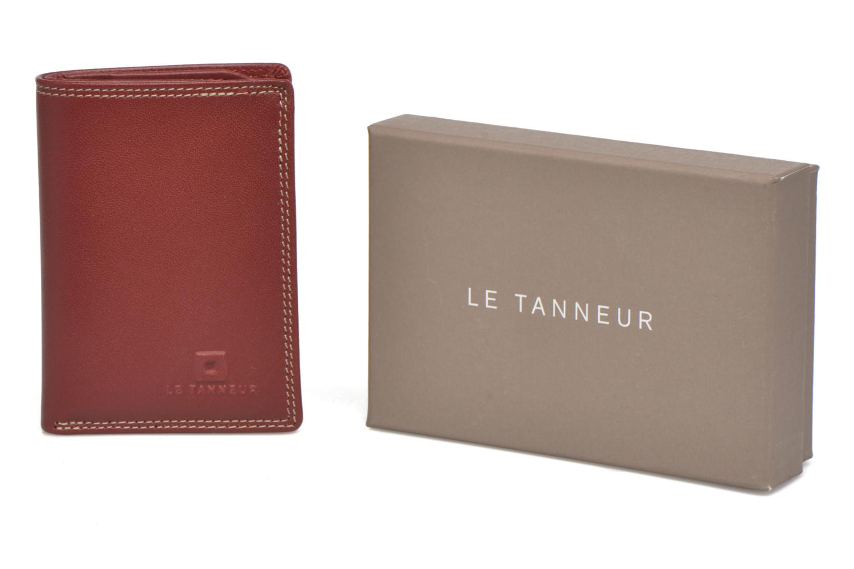 Portemonnaies & Clutches Le Tanneur TOURAINE Porte-cartes et billets rot detaillierte ansicht/modell