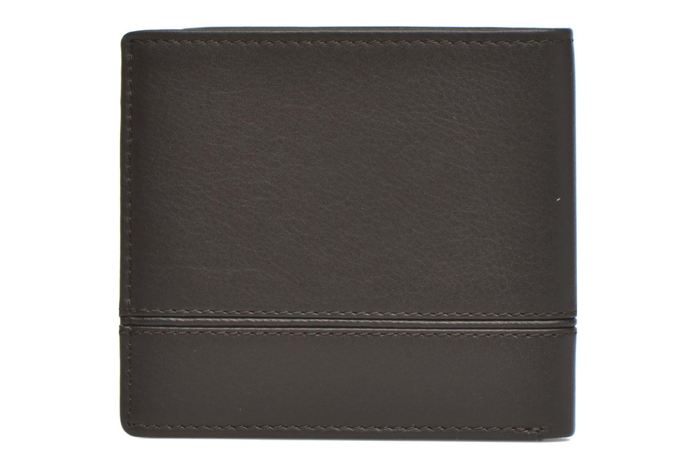 JULES Porte-billets 2 poches marron