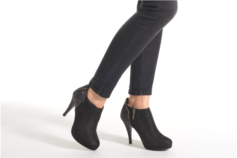 Bottines et boots Refresh Anselma-61205 Noir vue bas / vue portée sac