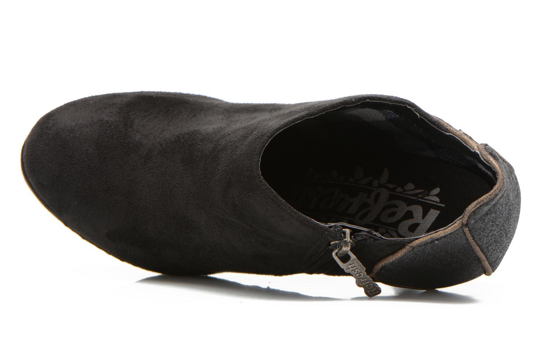 Bottines et boots Refresh Anselma-61205 Noir vue gauche