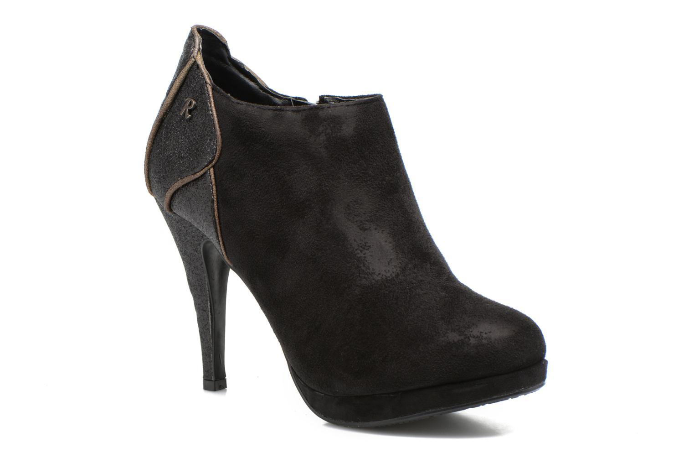 Bottines et boots Refresh Anselma-61205 Noir vue détail/paire