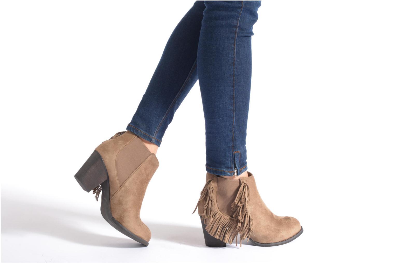Bottines et boots Refresh Carmelina-61231 Noir vue bas / vue portée sac