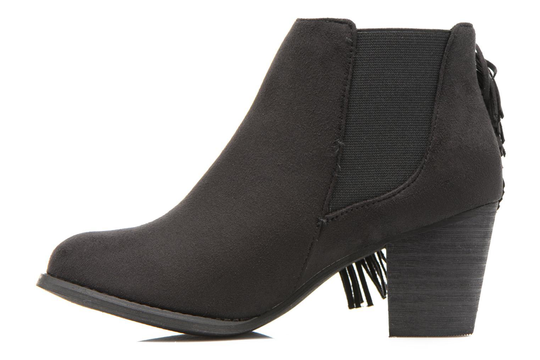 Bottines et boots Refresh Carmelina-61231 Noir vue face