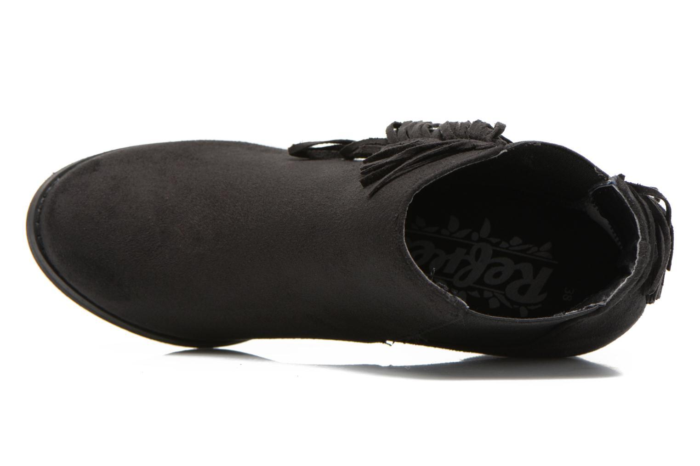 Bottines et boots Refresh Carmelina-61231 Noir vue gauche