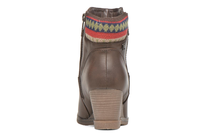 Stiefeletten & Boots Refresh Mayalena-61628 braun ansicht von rechts
