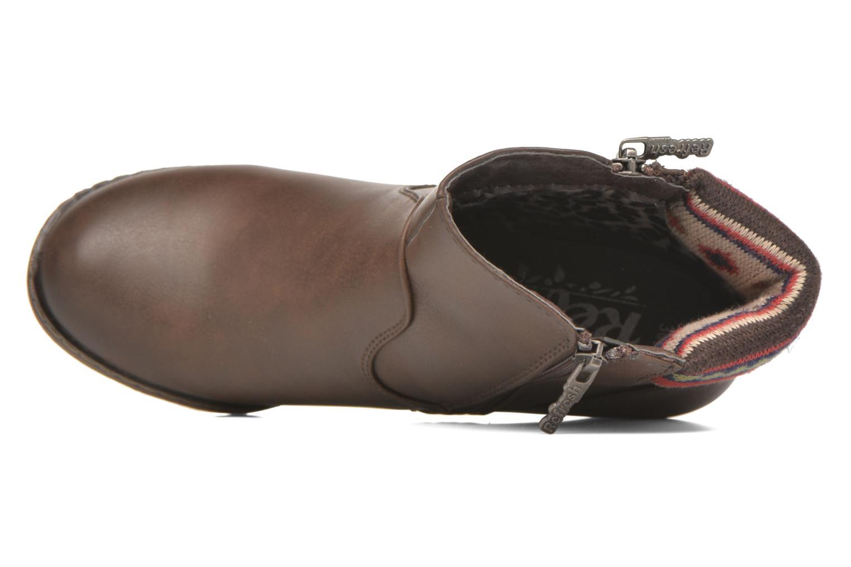 Stiefeletten & Boots Refresh Mayalena-61628 braun ansicht von links