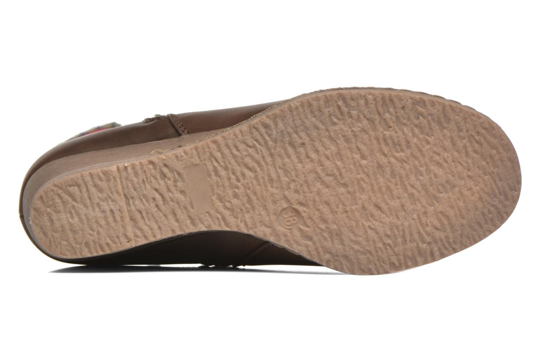 Stiefeletten & Boots Refresh Mayalena-61628 braun ansicht von oben