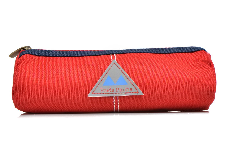 Scolaire Poids Plume Trousse triangle unie Rouge vue détail/paire