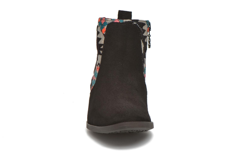 Stiefeletten & Boots Desigual Indian boho schwarz schuhe getragen