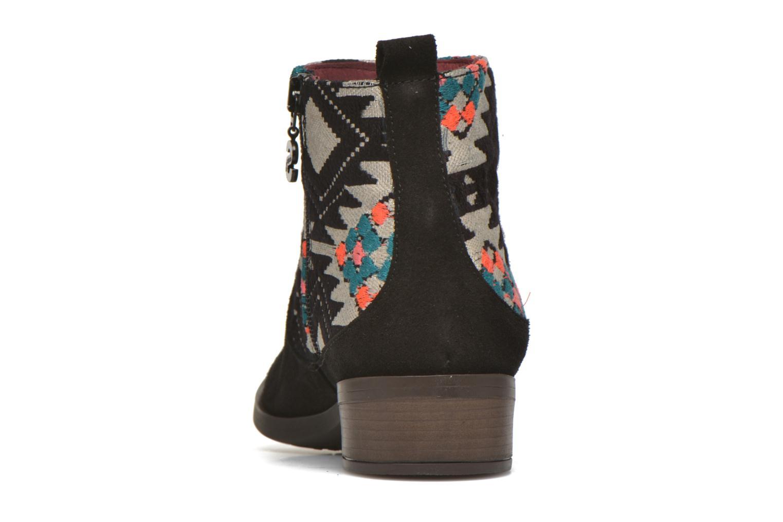 Bottines et boots Desigual Indian boho Noir vue droite
