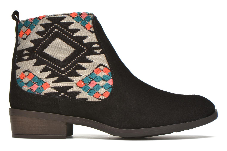 Stiefeletten & Boots Desigual Indian boho schwarz ansicht von hinten