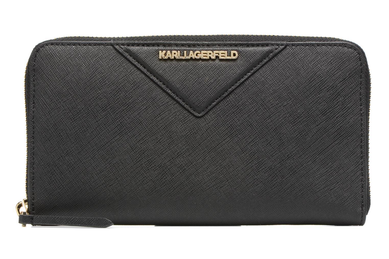 Petite Maroquinerie Karl Lagerfeld Klassic Wallet Noir vue détail/paire