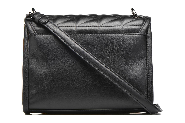 Bolsos de mano Karl Lagerfeld Kuilted Mini Handbag Negro vista de frente