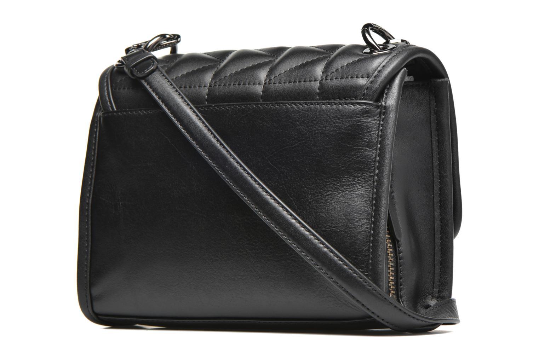 Bolsos de mano Karl Lagerfeld Kuilted Mini Handbag Negro vista lateral derecha