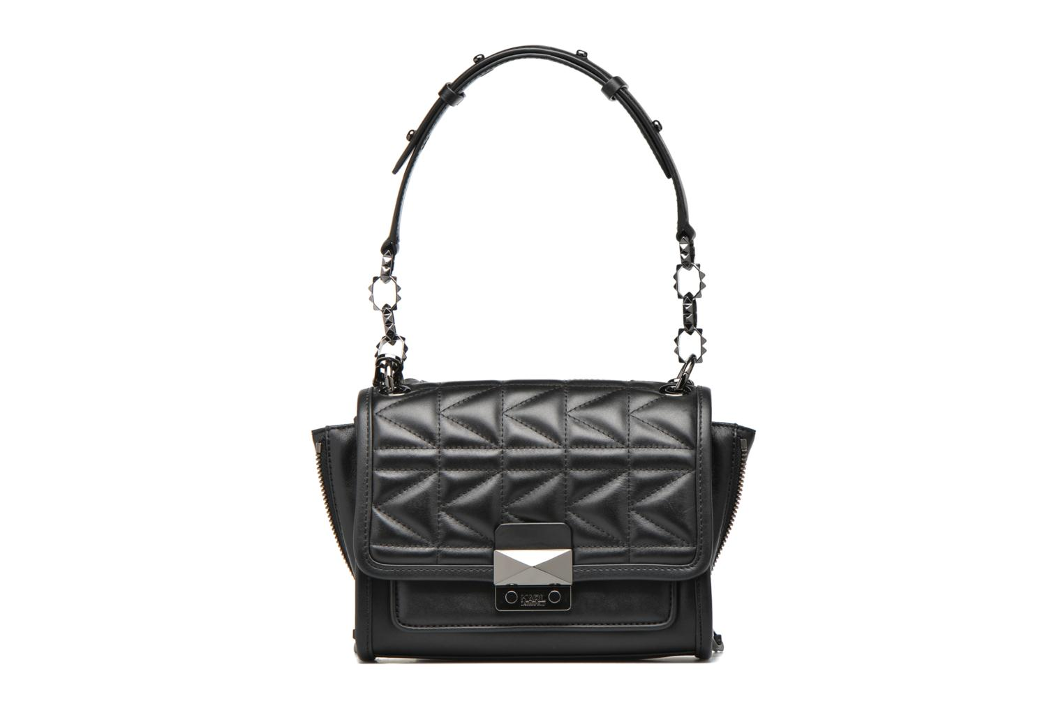 Kuilted Mini Handbag Black/black