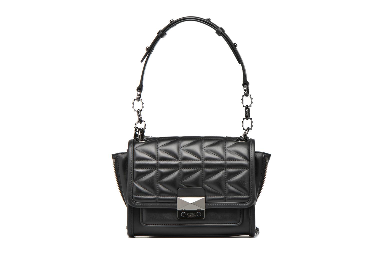 Bolsos de mano Karl Lagerfeld Kuilted Mini Handbag Negro vista lateral izquierda