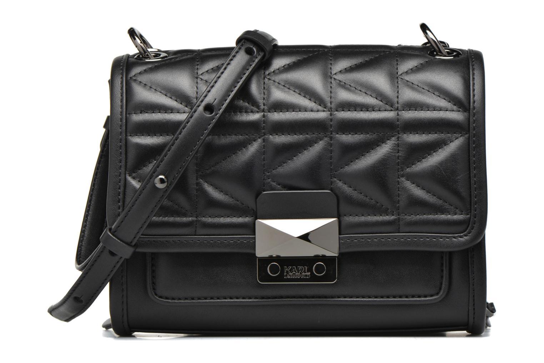 Bolsos de mano Karl Lagerfeld Kuilted Mini Handbag Negro vista de detalle / par