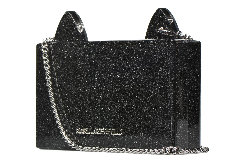 Sacs à main Karl Lagerfeld Kocktail Minaudière Noir vue droite