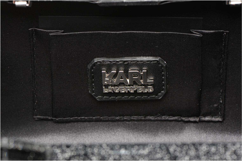 Sacs à main Karl Lagerfeld Kocktail Minaudière Noir vue derrière