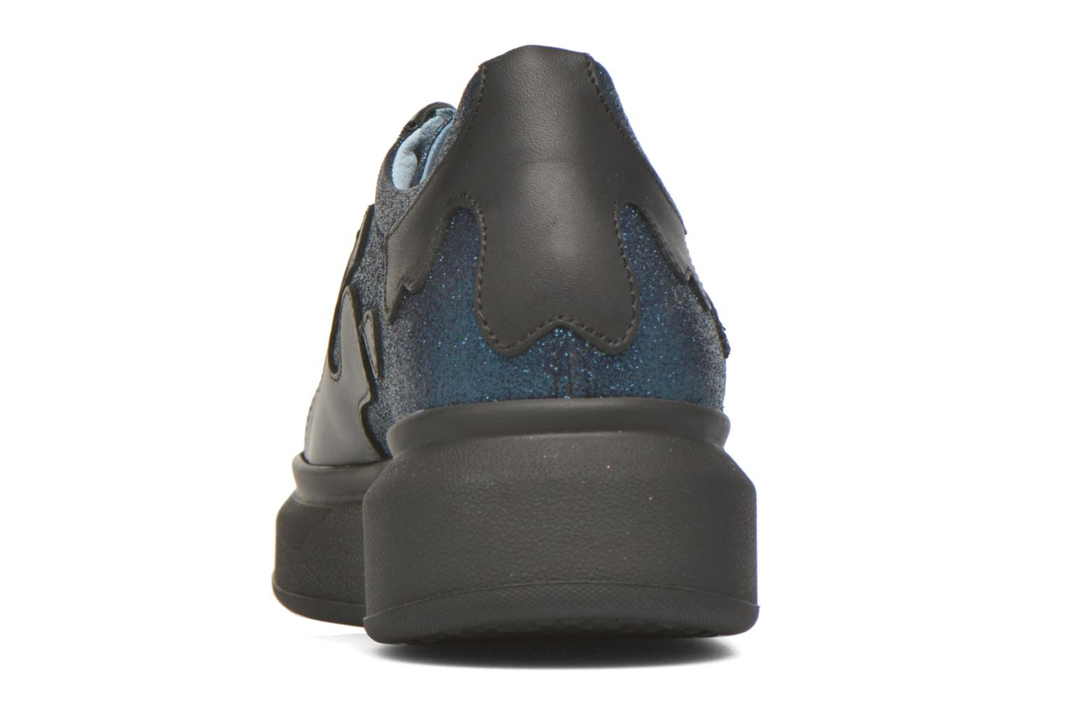 Trainers Apologie Flac Black view from the right