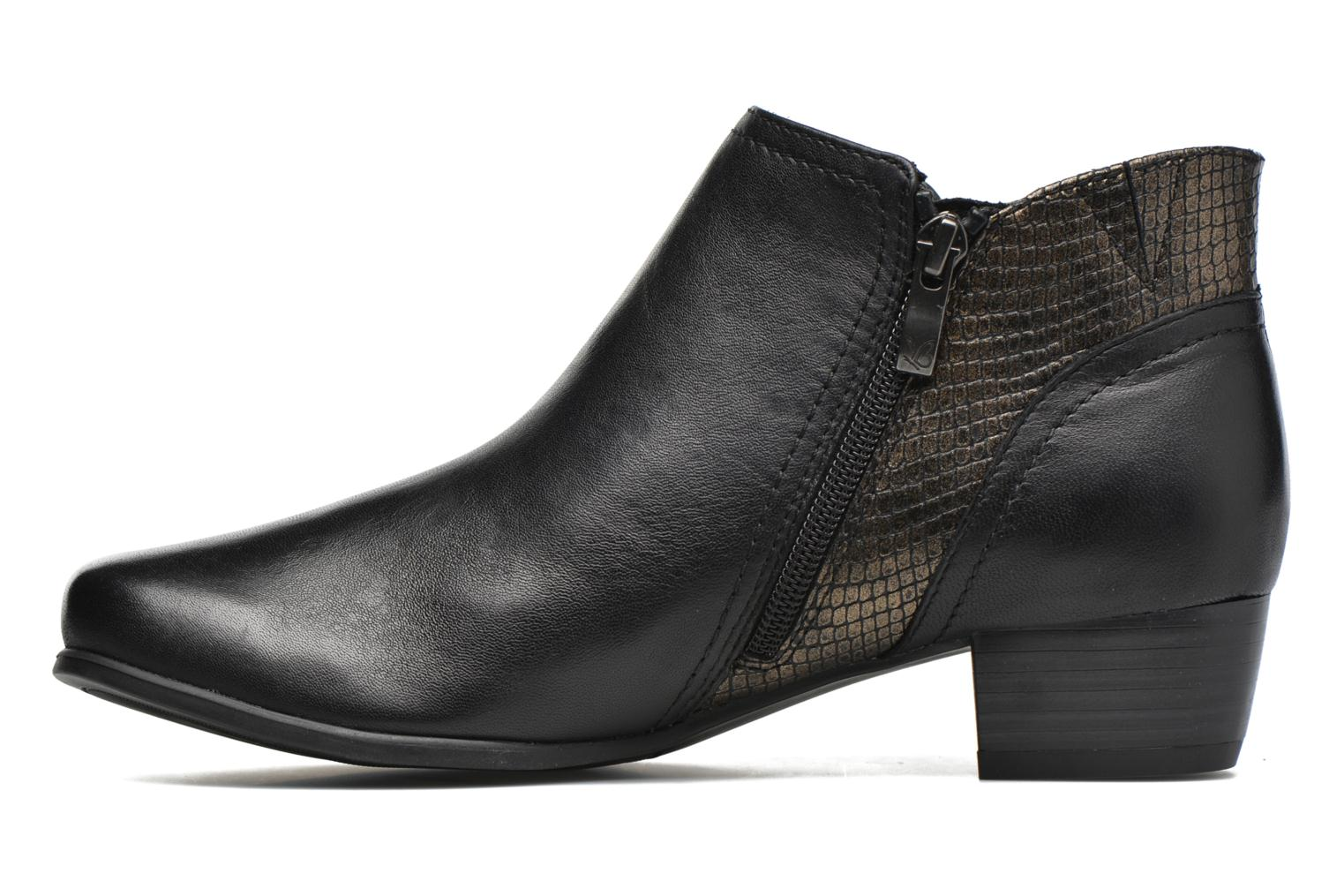 Ankle boots Caprice Bhuma Black front view