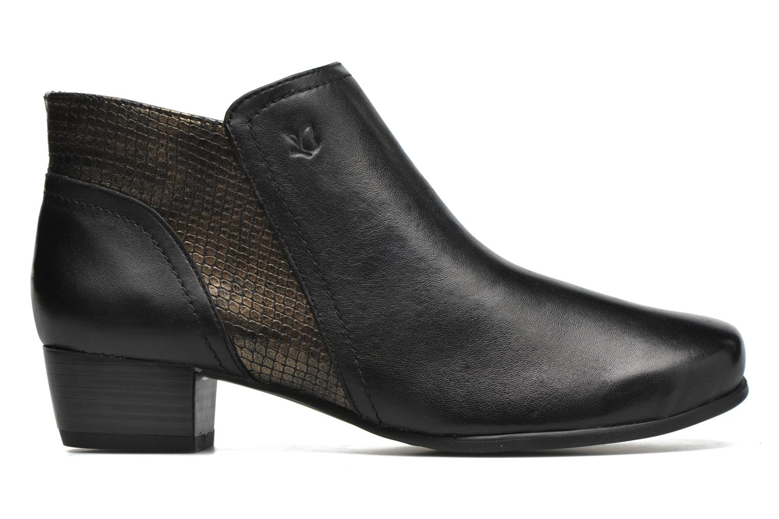 Ankle boots Caprice Bhuma Black back view