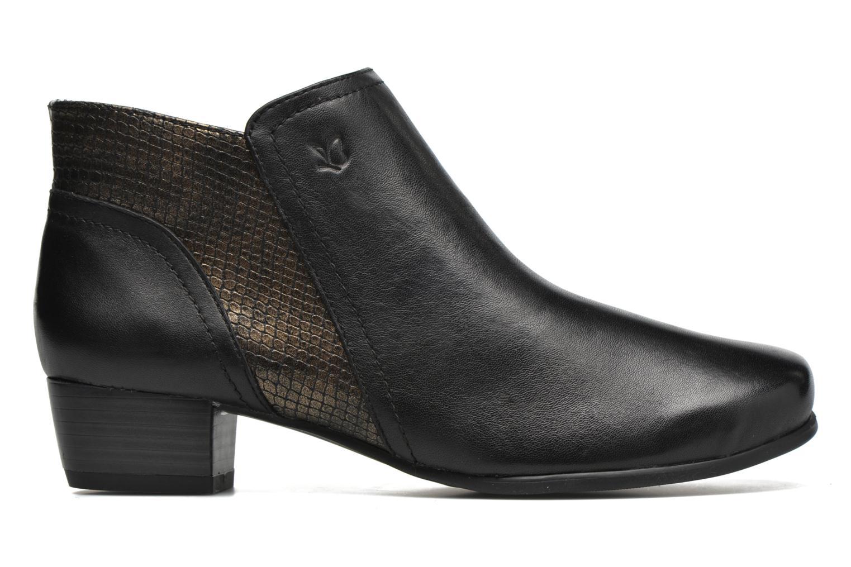 Bottines et boots Caprice Bhuma Noir vue derrière