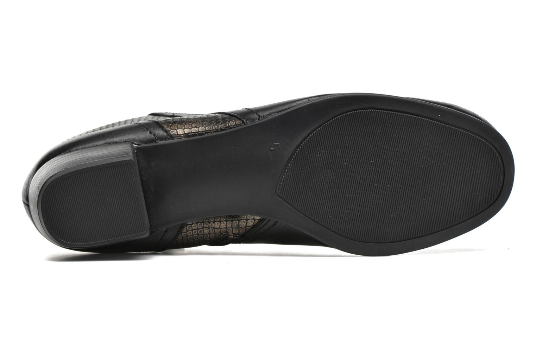 Bottines et boots Caprice Bhuma Noir vue haut